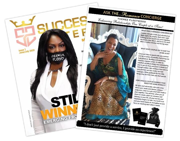 """Success Sisters - Columnist - """"Ask the Romance Concierge"""""""